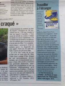 Le Parisien - 10 mars 2014