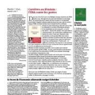 Article dans le supplément Le Monde Campus 18/11/2014